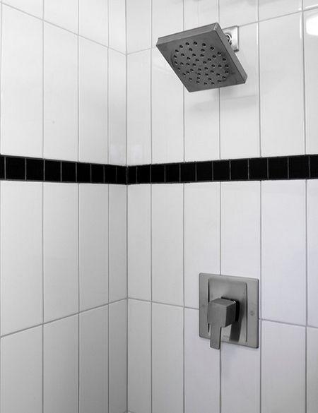 Vertical Subway Tile Installation Vertical Shower Tile