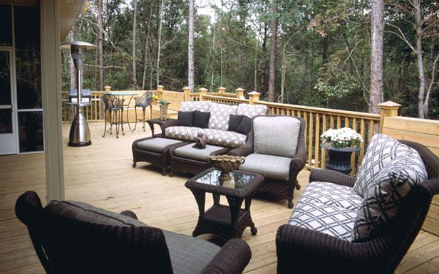 Patio Furniture Setup Ideas