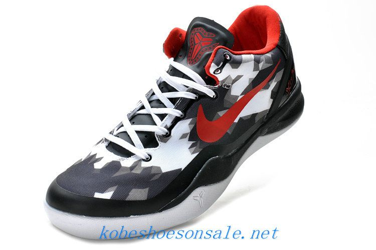 b7f0de4c6fe7 Nike Zoom Kobe 8 Elite USA White Black Red 555035 101
