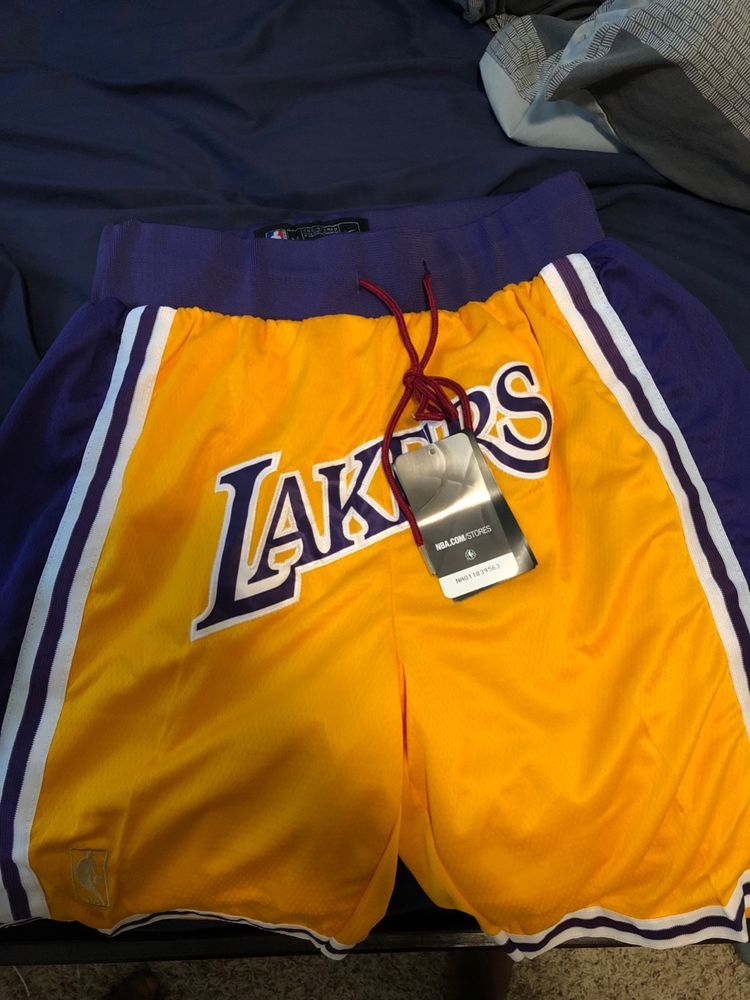 wide varieties recognized brands crazy price Just Don LA Laker Shorts Don C Medium #fashion #clothing ...