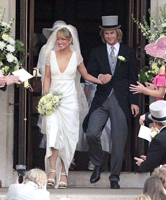 Image result for chris hemsworth rush wedding