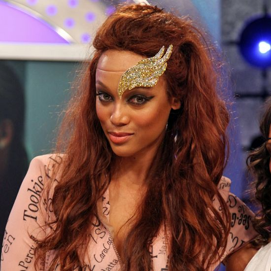 Tyra Banks's Angel Wing Headpiece: Love It Or Leave It