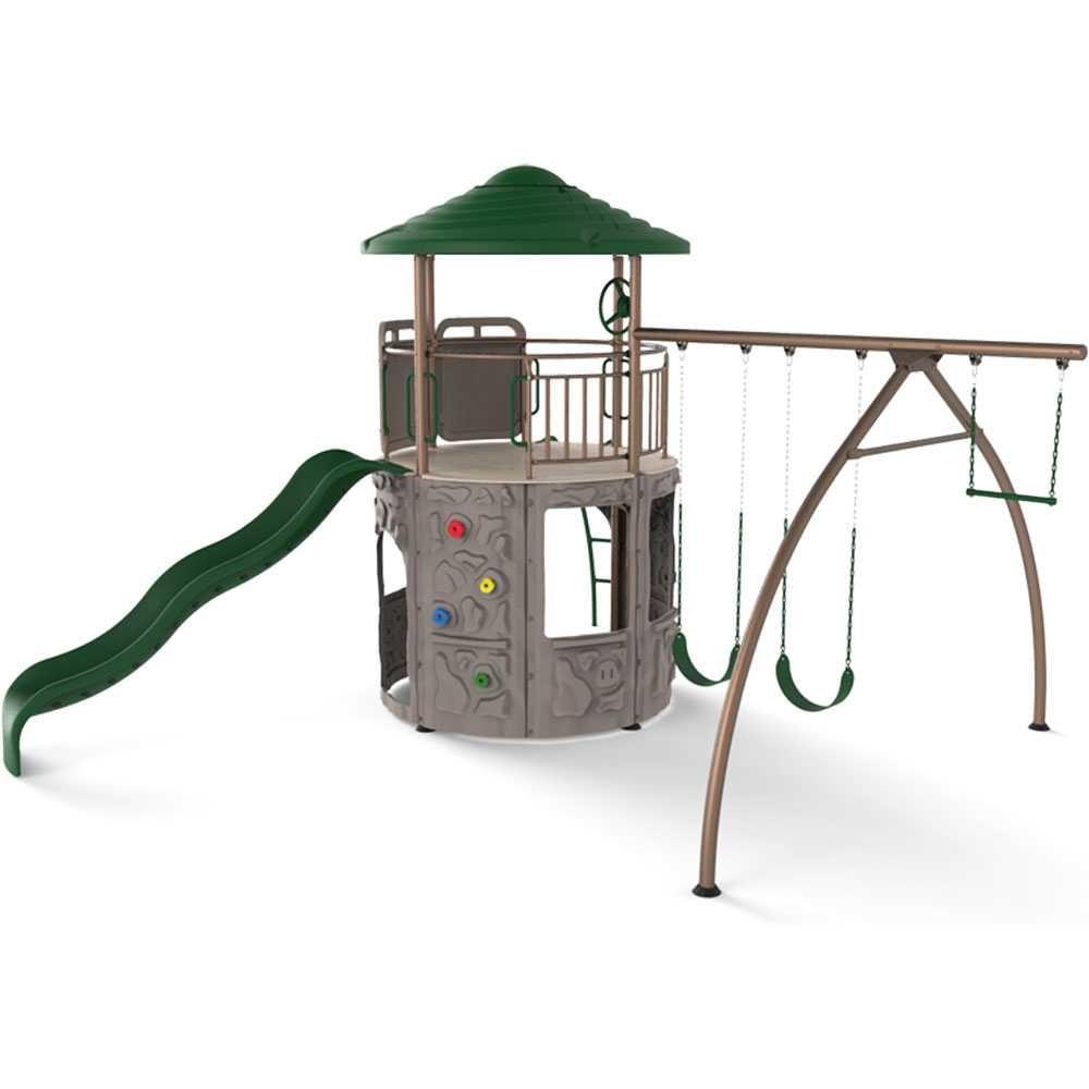Lifetime Adventure Tower Basic (Earthtones) 90440 | Playground ...