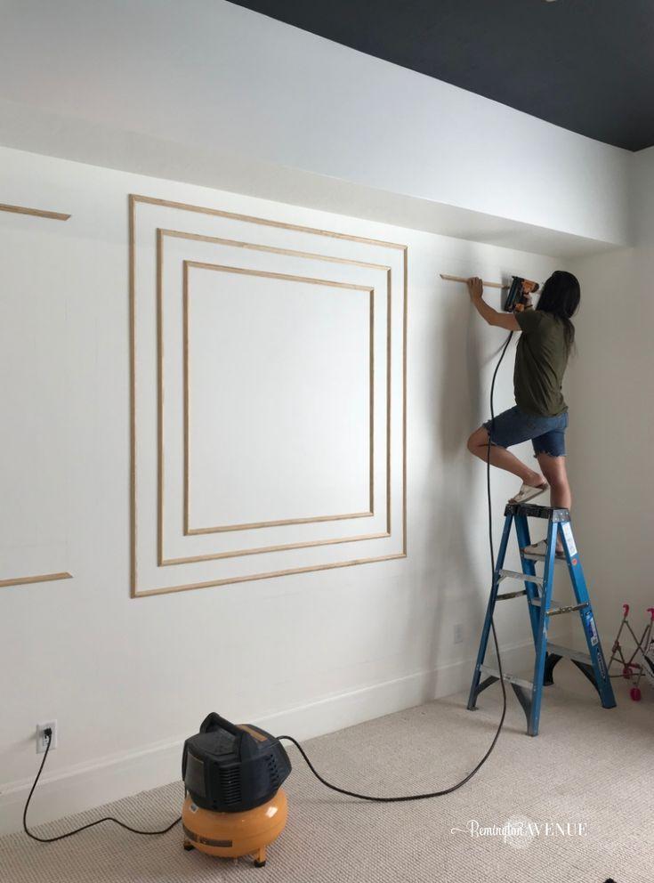 How To Install Modern Wall Molding Wall Molding Modern