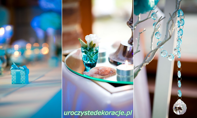 Turkusowe I Mietowe Dodatki Slubne Table Decorations Decor Home Decor