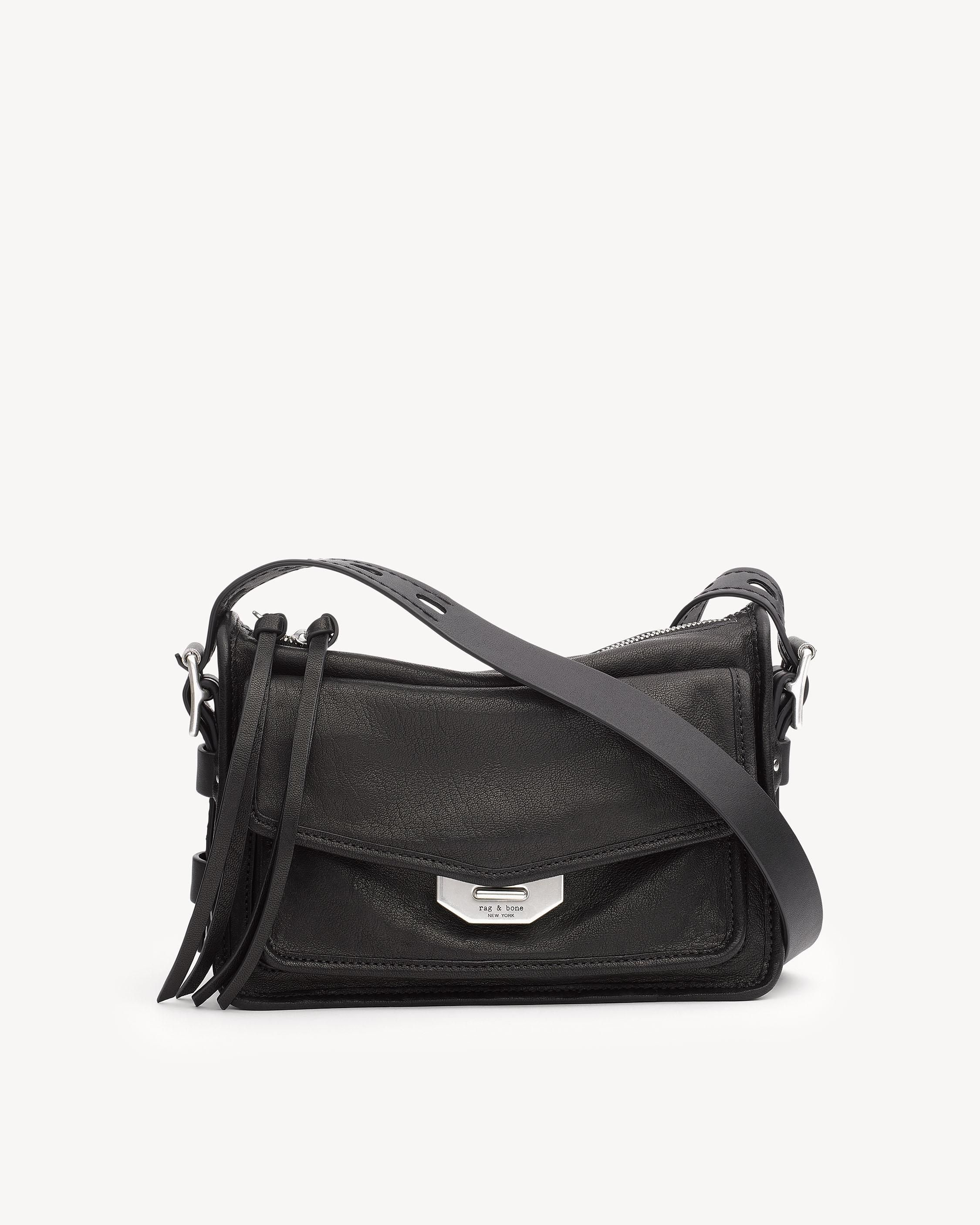 fbd98ce681a SMALL FIELD MESSENGER | Rag & Bone | Rag, bone, Bags, Black white ...
