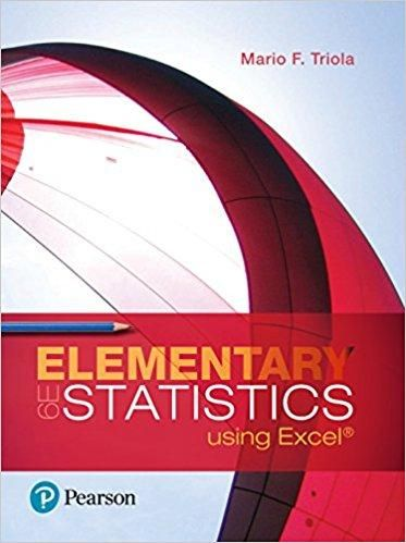 Elementary statistics using excel 6th edition by mario f triola elementary statistics using excel 6th edition by mario f triola isbn 13 978 fandeluxe Image collections