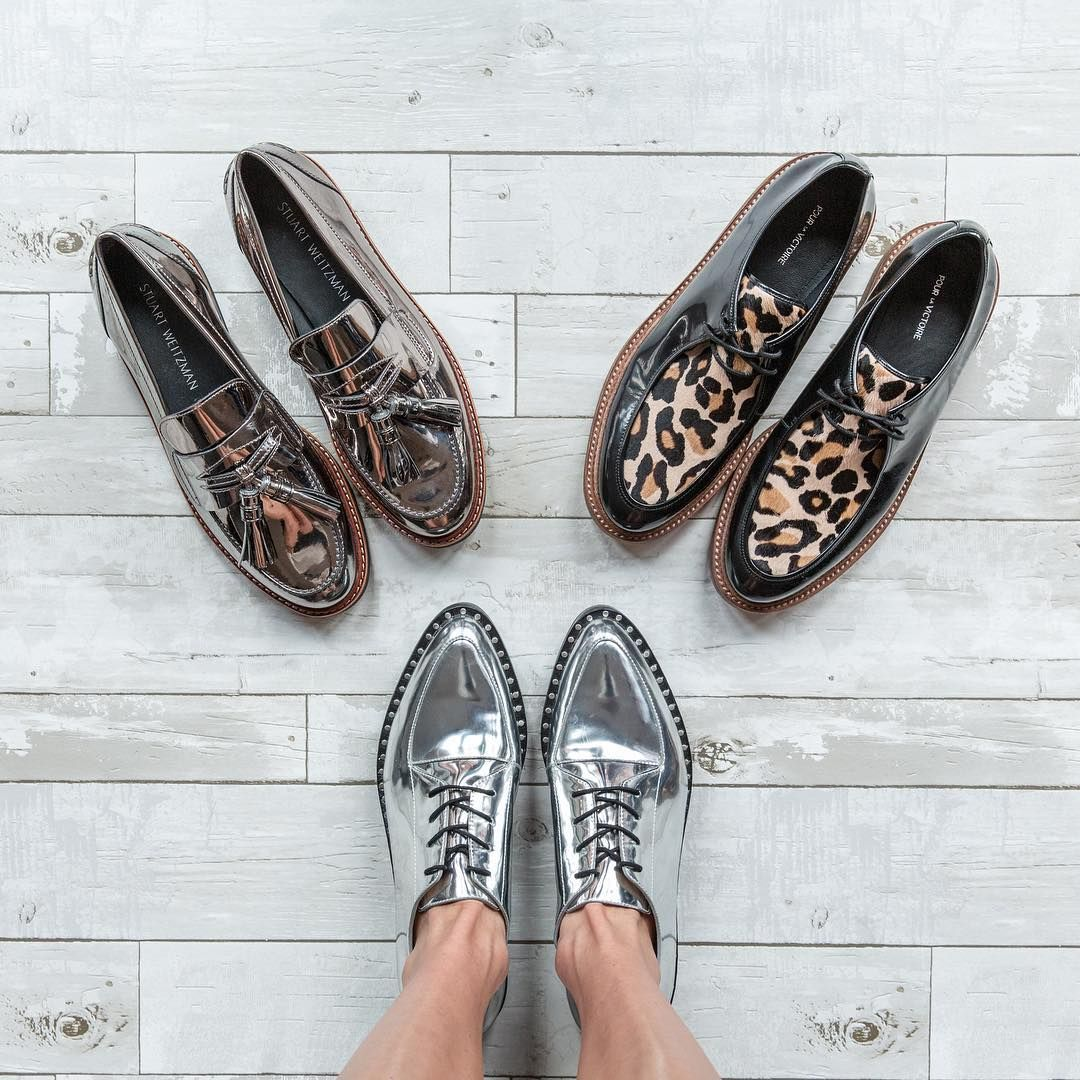 Time to step things up!  Shoes (clockwise from bottom): #LoefflerRandall  #StuartWeitzman  #PourLaVictoire