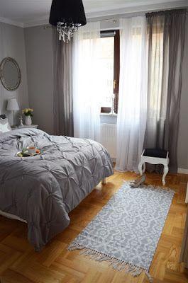 Szara Sypialnia Glamour Bedroom Bedroom W 2019 Bedroom Bed I