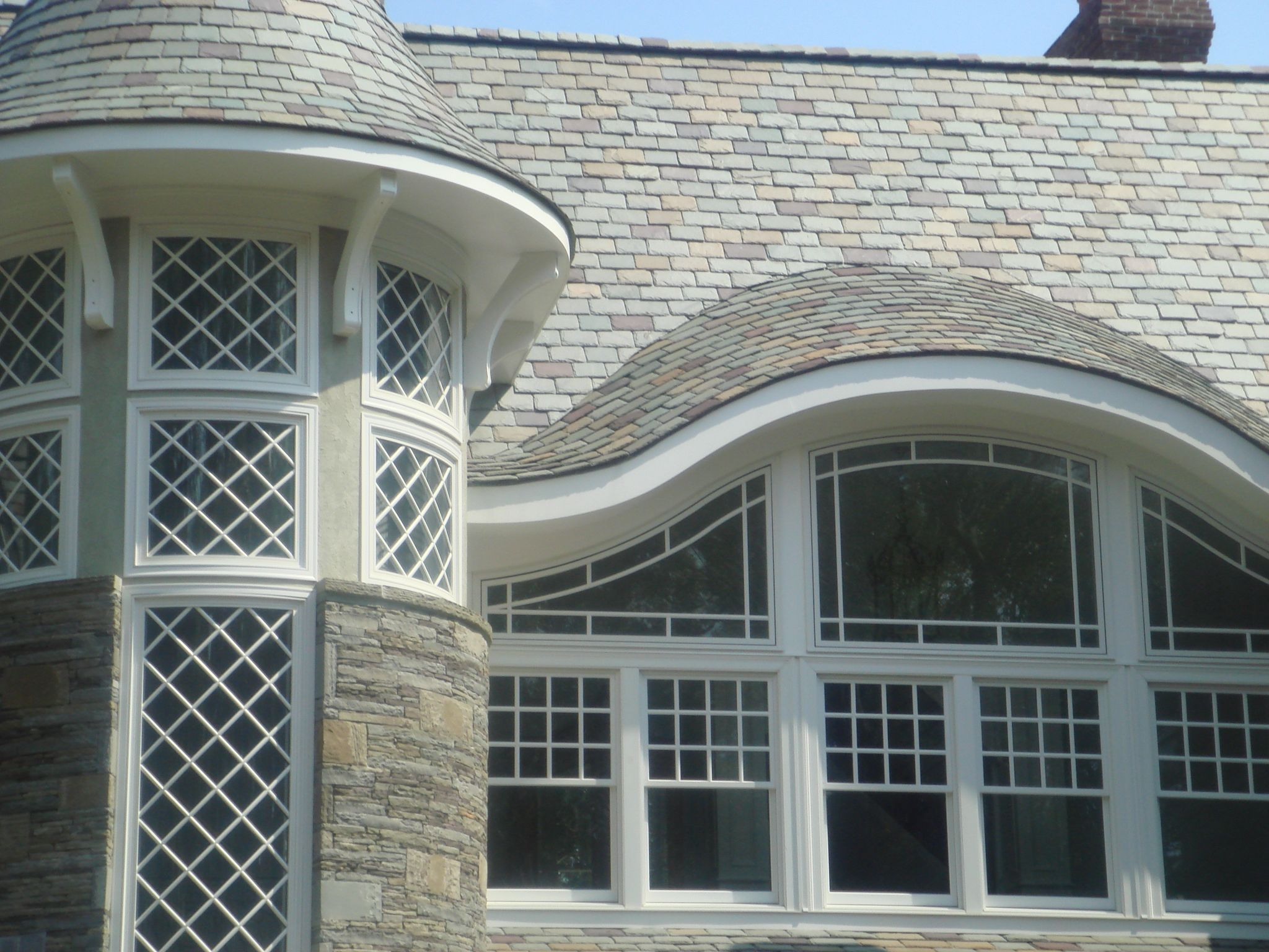Eyebrow window windows by for Eyebrow dormer windows