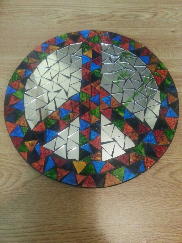 My Mosaic peace sign