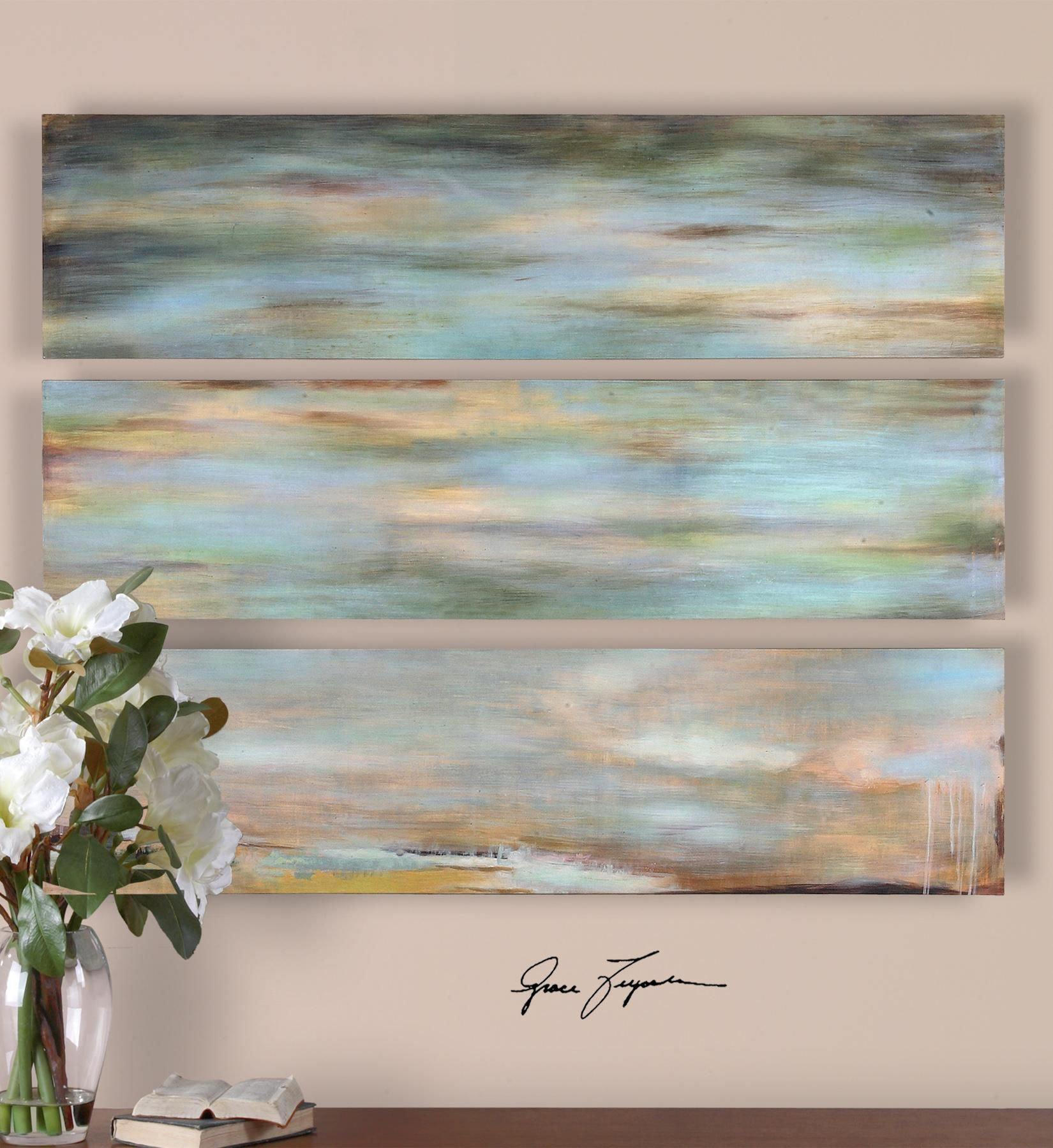 Subdued hues by uttermost decorating pinterest paintings