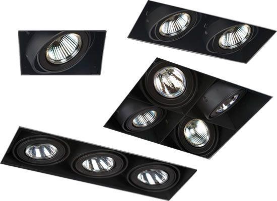 eurofase te211 te212 te213 te214b mr16 multiple recessed lights