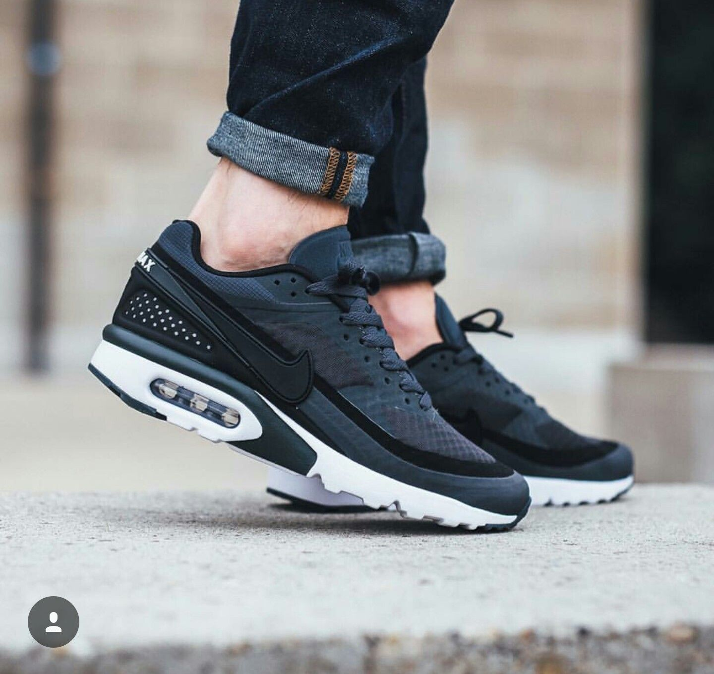 Nike Air Max BW Ultra Antraciet blackwhite | Step ♢ Walk