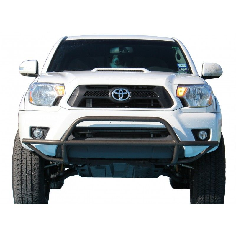 2012 - 2015 Toyota Tacoma Front Bumper Guard   Roof racks and lights ...