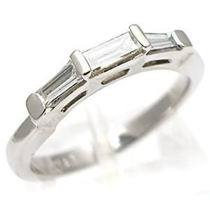 Estate Platinum Baguette Diamond Wedding Guard Ring Need this for my ...