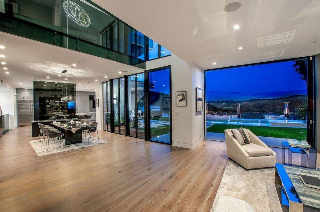 Modern Lake View Estate in Bel Air returns Market for 8.5