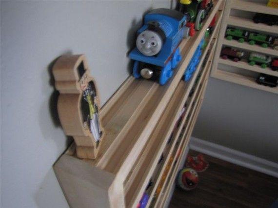 Thomas The Tank Engine Brio Wood Train Storage By Dusteater5614 80 00 Wood Train Wooden Train Wooden Train Track