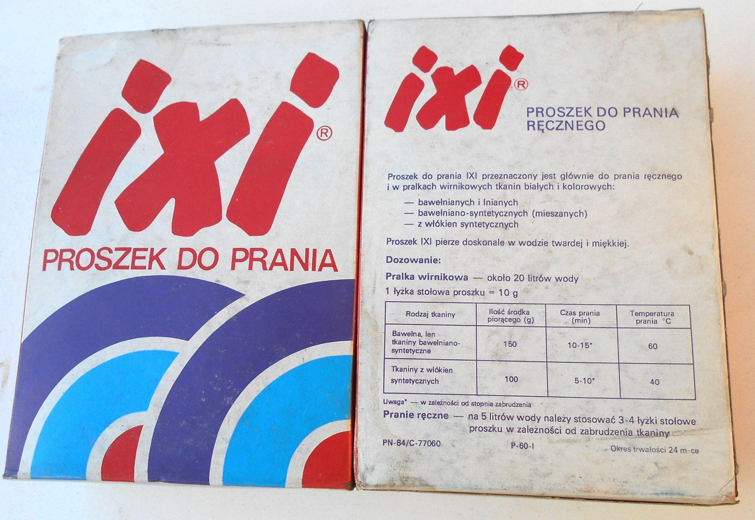 Proszek Ixi Kultowy Do Prania Recznego Prl 7347402454 Oficjalne Archiwum Allegro