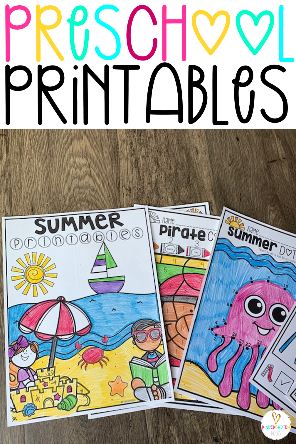 Summer Printables For Preschool Getting Ready For