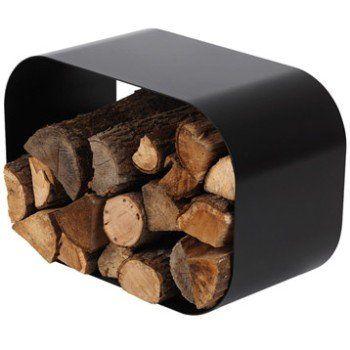 Rangement Pour Bois Acier Noir Atelier Dixneuf Smart H40