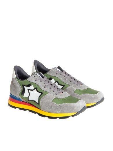 ATLANTIC STARS. Gray GreenShoes SneakersFlatsSneakers