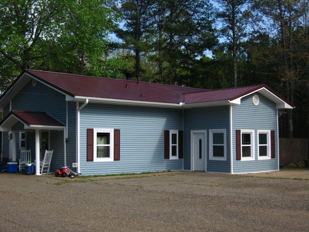 Metal Roof Houses Residential Metal Roofing Texarkana Roofing Contractor Roofer Residential Metal Roofing Metal Roof Roof Colors