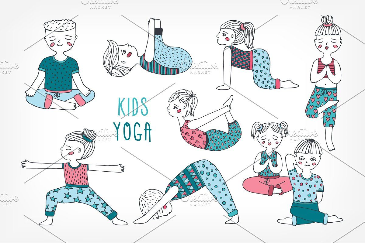 Yoga Poses For Kids In