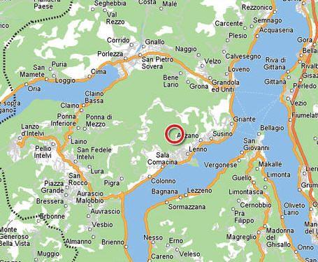 cool Map of italy lake como  Travelquaz  Pinterest  Lake como