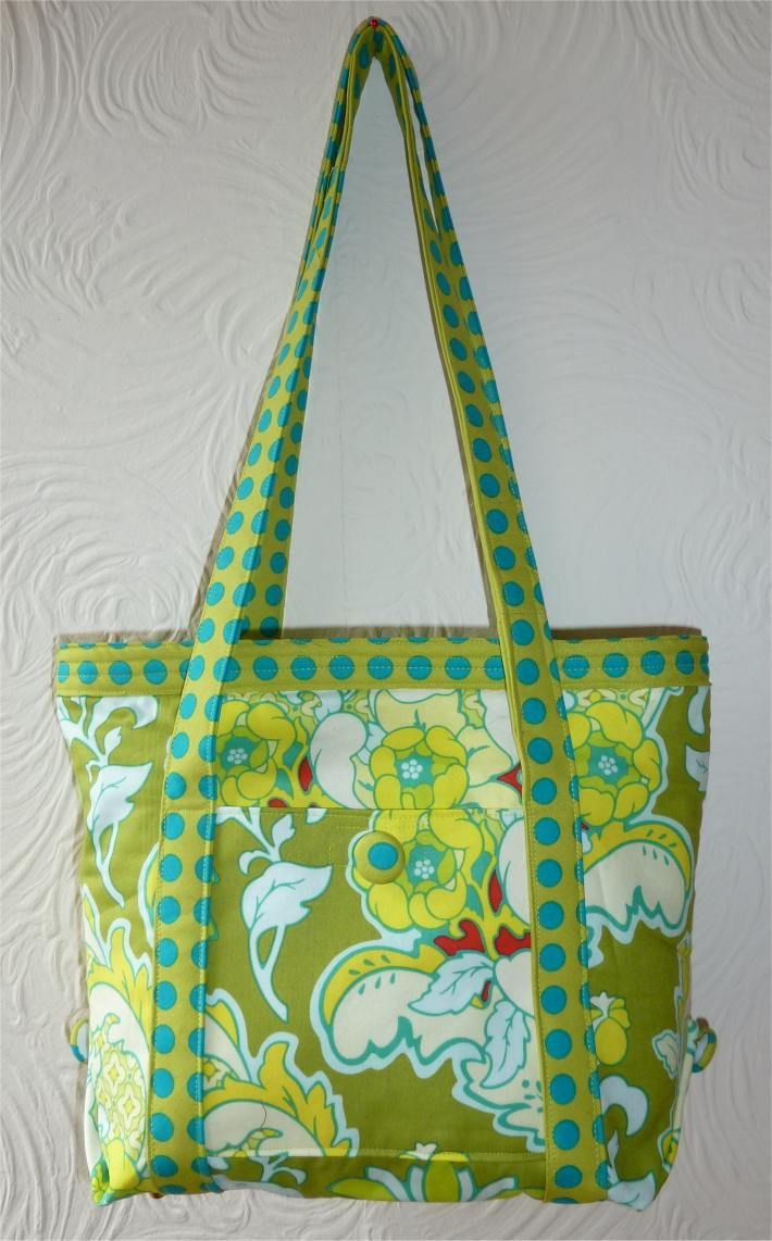 Free Tutorial for a Bag or Purse Market tote