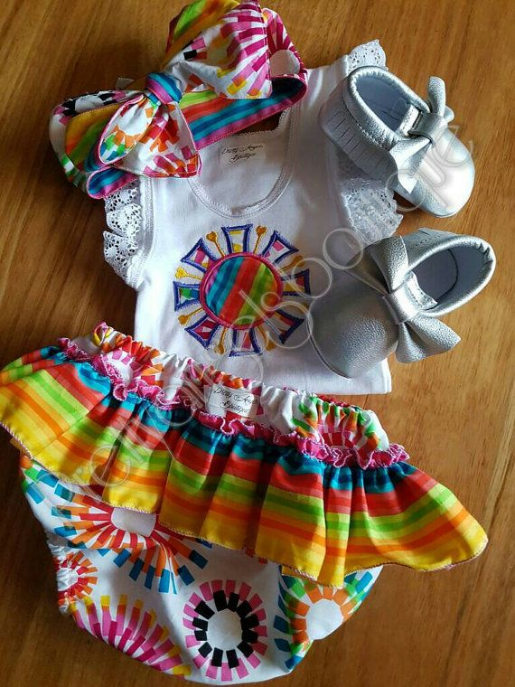 Hey, I found this really awesome Etsy listing at https://www.etsy.com/au/listing/467154854/girls-rainbow-bloomer-set-with-matching
