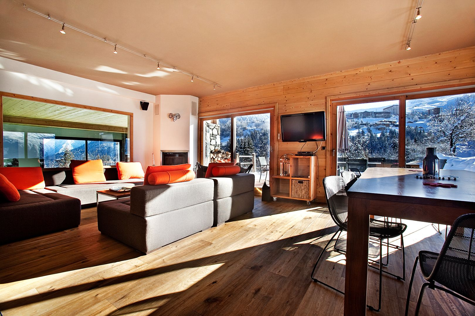 Enjoy the comfort of your chalet and get inspired by the