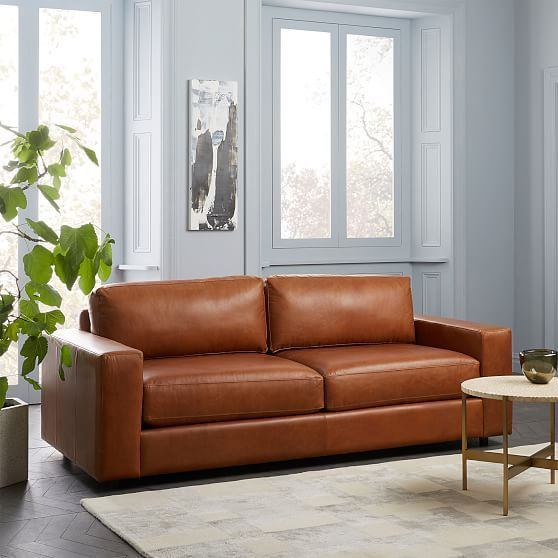 Fabulous Urban 84 5 Sofa Poly Stetson Leather Cognac In 2019 Gmtry Best Dining Table And Chair Ideas Images Gmtryco