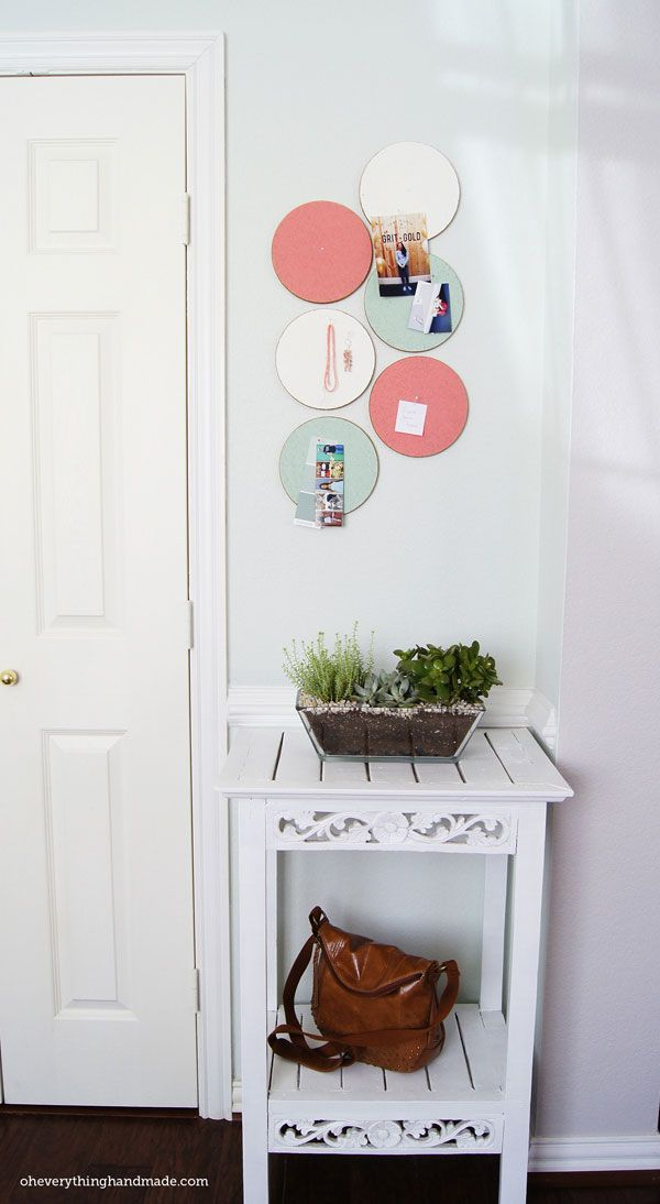 diy custom cork board ikea hack 16 cool diy room decor on inspiring workspace with a cork wall creating a custom cork board for your home id=62349
