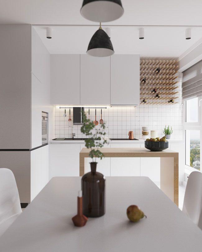 Inspiration Deco Du Jour Cuisine Moderne Cuisine Moderne Blanche Et Cuisines Design