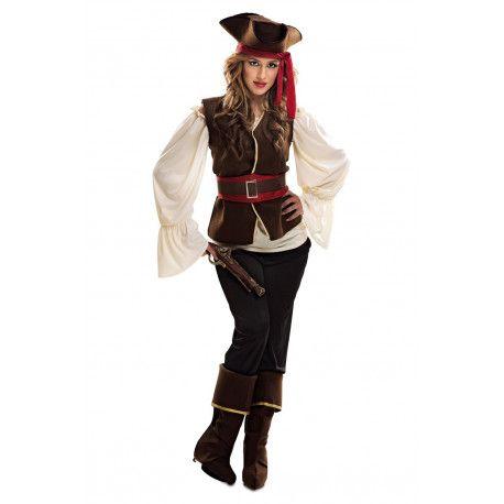 disfraces mujer pirata xxl