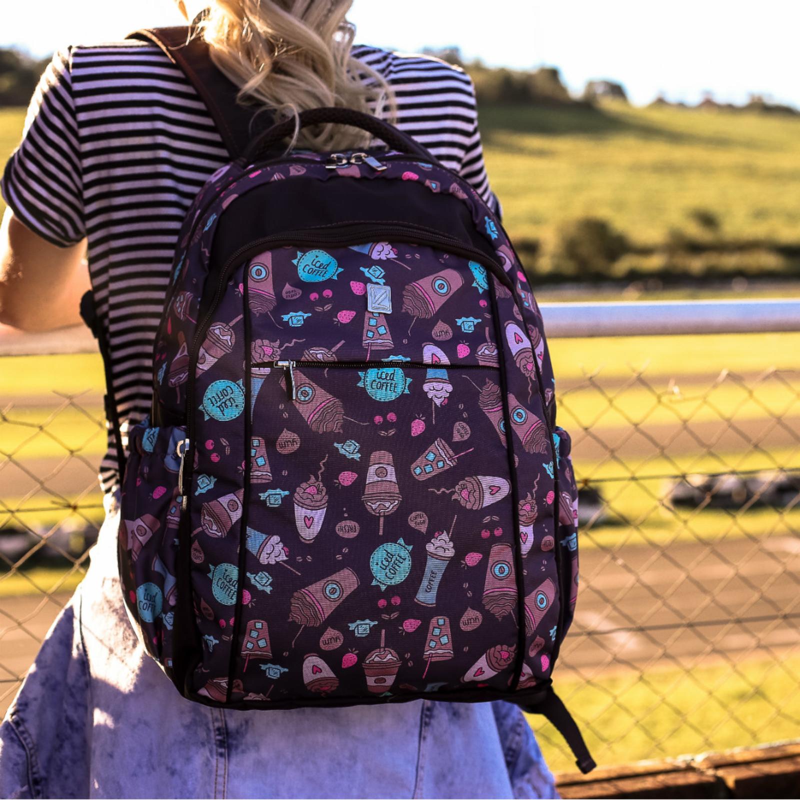 aa4b9d4d9 Mochila Feminina Estampada Viclub | Products | Backpacks, Vera ...