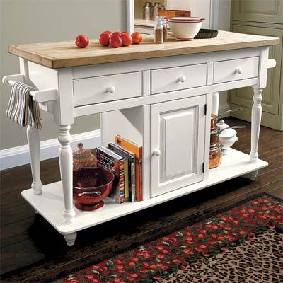 Best New Home Products 2010 | Portable kitchen island