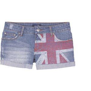 Indigo Union Jack Short