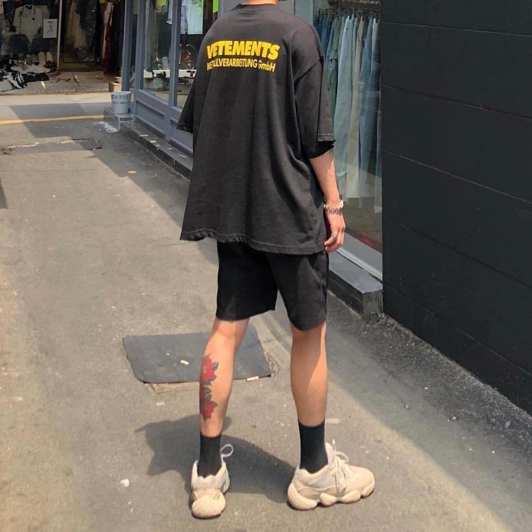 Mens fashion streetwear