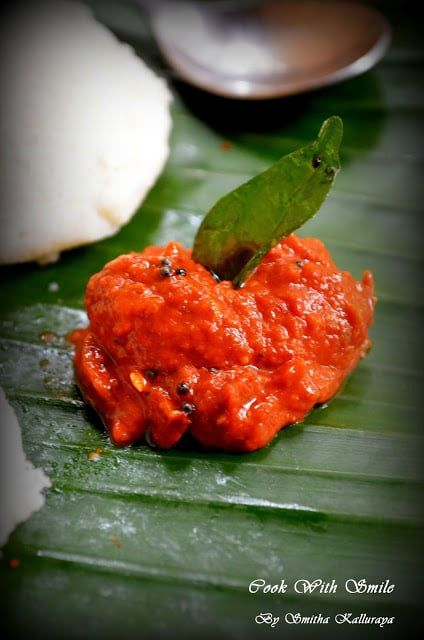"""Chutney is one of the crucial category in Indian cuisine. There are so many types of chutneys one can make .Among the long list of different chutneys today i have for you one easy and simple chutney made from tomato.I am damn sure many would be knowing the recipe of """" Tomato Chutney """" but there are so many ways one can make it . I have 4 -5 different recipes of making Tomato chutney and guess what .. each taste so different and tasty from one another .Few months back i have shared Tomato…"""