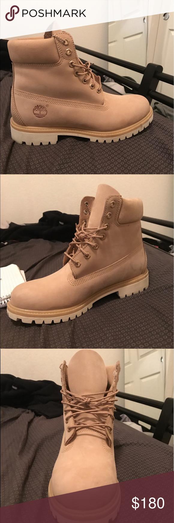 Timberland boot creme size 9 mens