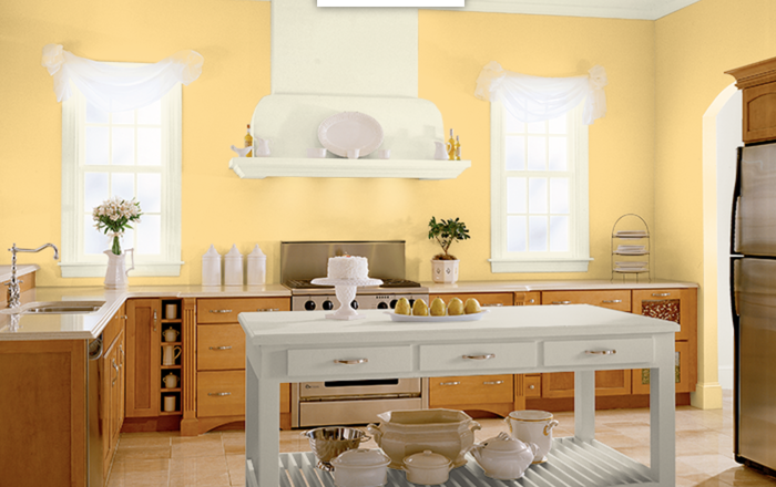 15 Behr Paint Colors That Will Make You Smile Bricks Kitchen Wood And House