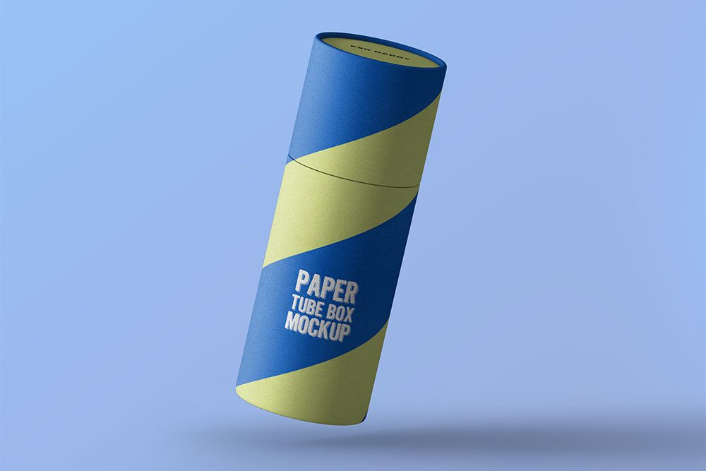 Download Free Paper Tube Packaging Mockup Paper Tube Packaging Mockup Free Packaging Mockup Packaging Mockup Mockup