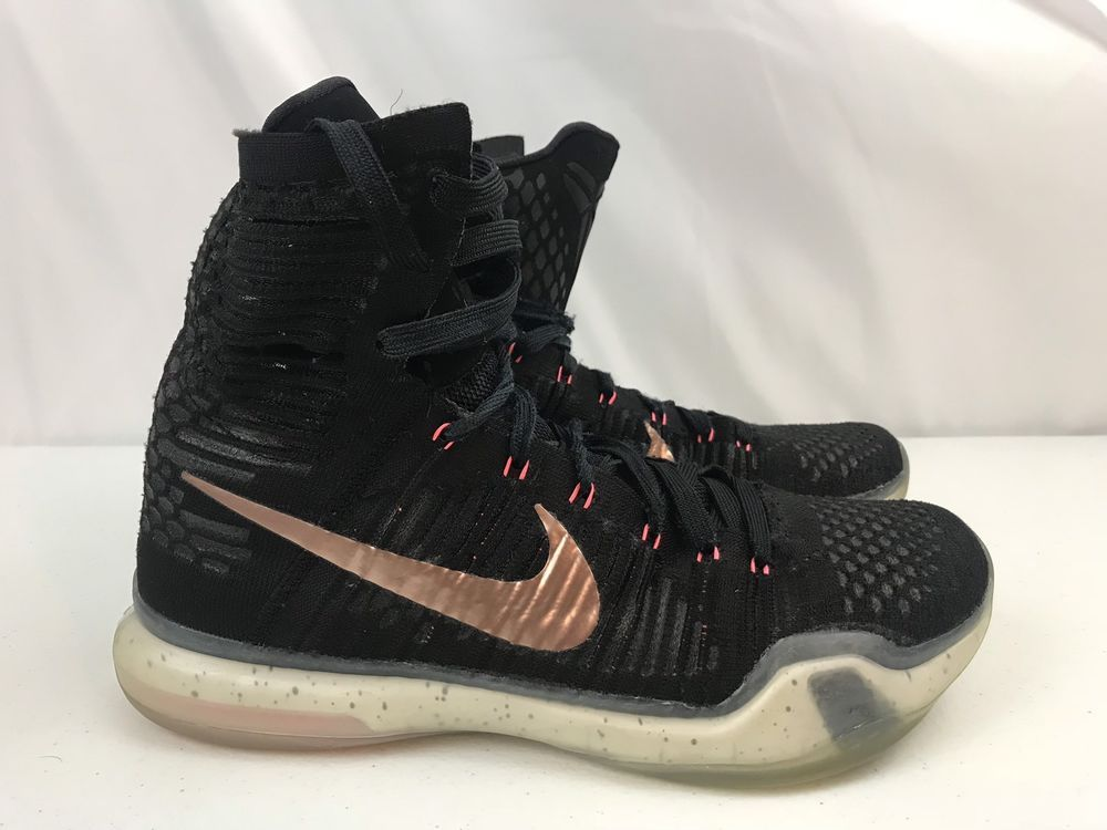 official photos 8ee7e a54f0 Nike Kobe 10 Elite X Rose Gold Black 718763-091 Mens Size 9  fashion