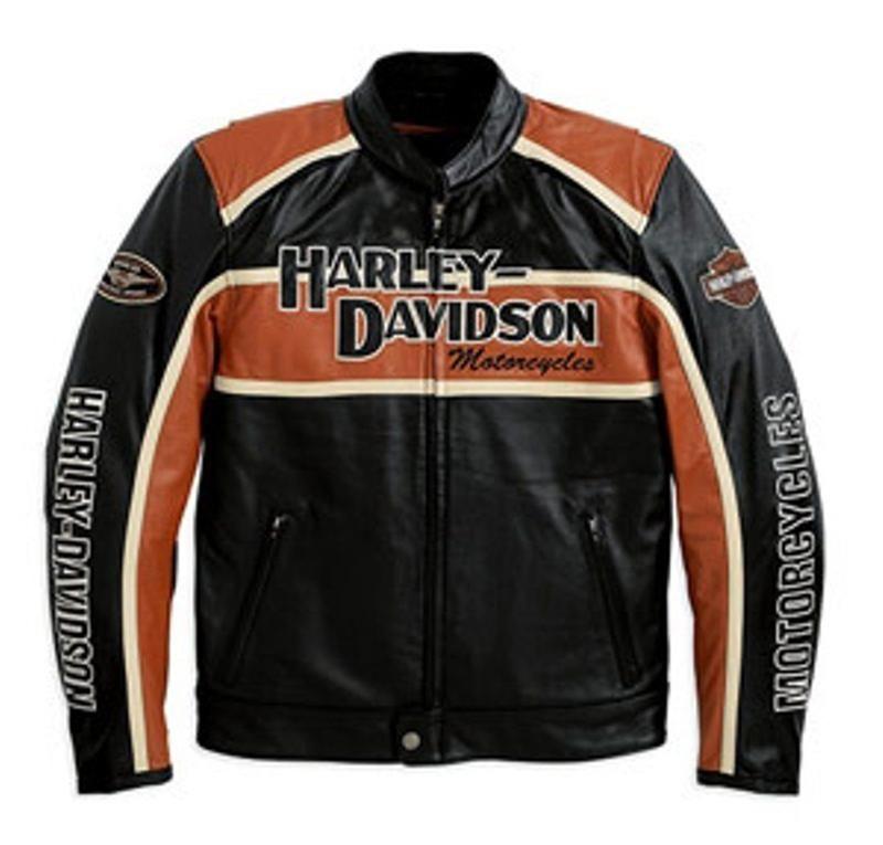 Harley Davidson Motorcycle Leather Jacket
