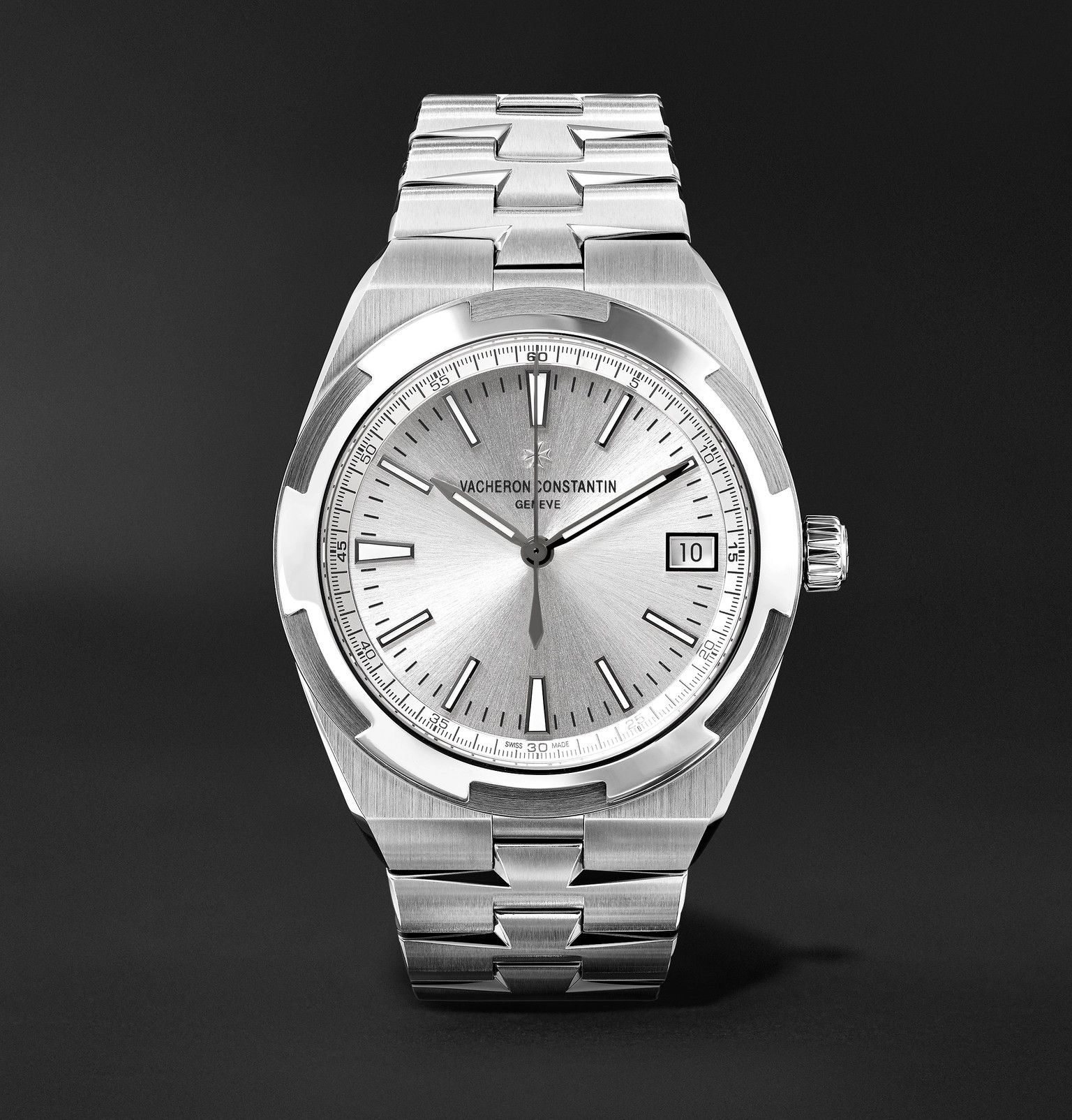 Silver Overseas Automatic 41mm Stainless Steel Watch Ref No 4500v 110a B126 X45a9727 Vacheron Constantin In 2020 Luxury Watches For Men Luxury Watches Stainless Steel Watch