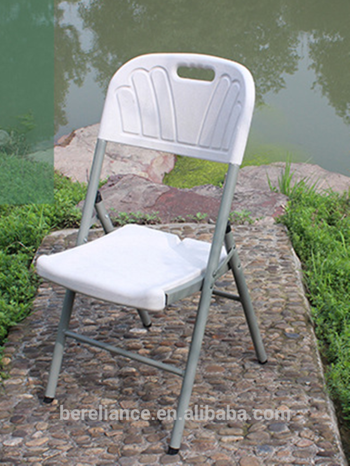 Outdoor White Plastic Foldable Chair For Wedding Event