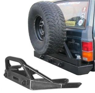 Front And Rear Xj Bumper Combo 4 Jeep Cherokee Sport Jeep