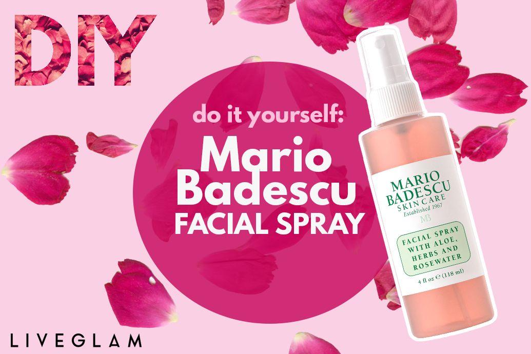 Diy mario badescu facial spray liveglam good to know pinterest diy mario badescu facial spray liveglam solutioingenieria Gallery
